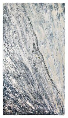 Glace – Hilde van SCHAARDENBURG (NL) - ART QUILT FUSION - Crédit photo : Céline Lachkar pour le Carrefour Européen du Patchwork