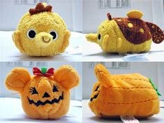Preview: Sheldon (from Finding Nemo) and Minnie Jack-O'-Lantern Tsum Tsum