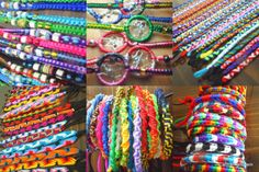 omg i loved these as soon as i saw them. beautiful peruvian friendship bracelets