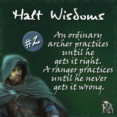 Halt Wisdoms