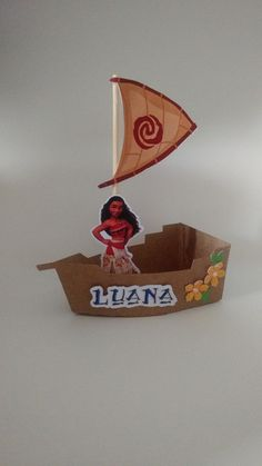 Barco Moana Flores Moana Boat, Moana Party, Moana Birthday, 6th Birthday Parties, Baby Party, Best Part Of Me, Valentines Day, Hawaii, Paper Crafts