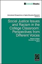 Social justice issues and racism in the college classroom : perspectives from different voices. eBook: http://libproxy.eku.edu/login?url=http://search.ebscohost.com/login.aspx?direct=true&db=nlebk&AN=513325&site=ehost-live&scope=site
