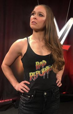 "★ ""Rowdy"" Ronda Rousey ★ Baddest Woman on the Planet ★ championships: Raw champ ★ Ronda Rousey Wwe, Ronda Jean Rousey, Wrestling Divas, Women's Wrestling, Wrestling Stars, Rowdy Ronda, Ufc Women, Wwe Girls, Raw Women's Champion"