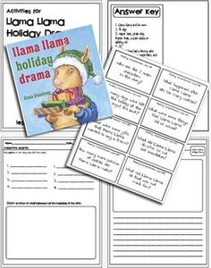 I made some cute activities to go with it! This  pack includes:Reading comprehension cards-...