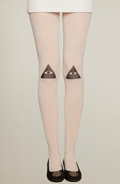 ofp: (via Knee Vision Tights, Drop Dead Clothing)