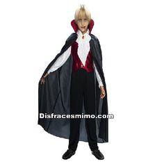 disfraz vampiro gotico de niño