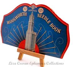 woolworth needle book. liza cowan ephemera collections  via Flickr