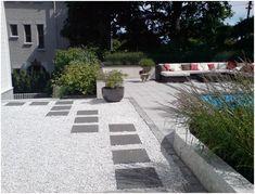belegningsstein rundt asfalt - Google-søk Safari, Garden Inspiration, Sidewalk, Design, Slate, Outdoor, Google Search, Terrace, Lawn And Garden