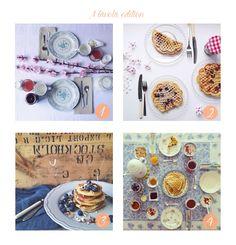 #instagram #table #setatable #breakfast #milk #indoor #decorate #interior #kitchen #pink #towel #decorating