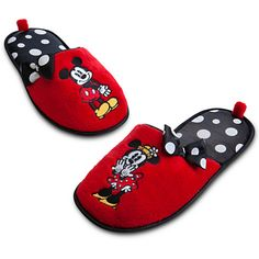 Mickey Mouse and Minnie Slippers for Women