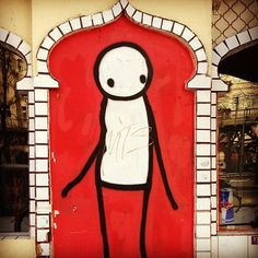 For those of you that appreciate street art, you might recognize this fella named Stik. Although he originatied in London, this character can be seen on some of the streets in Kreuzberg! Let us know when you spot one!
