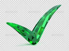 Emerald Checked by AnatolyM Emerald checked. 3d image. 3d image. Transparent high resolution PSD with shadows. Alpha channel.