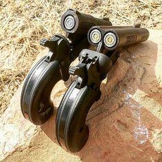 sawn off shotgun Weapons Guns, Guns And Ammo, Armas Ninja, Hand Cannon, Homemade Weapons, Custom Guns, Military Guns, Firearms, Shotguns