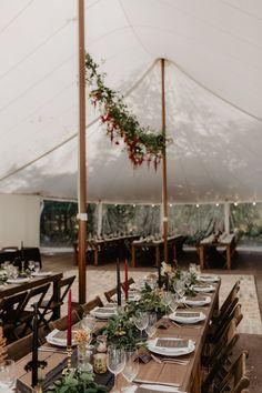 Tent Wedding, Forest Wedding, Chic Wedding, Wedding Table, Rustic Wedding, Our Wedding, Wedding Venues, Dream Wedding, Wedding Reception