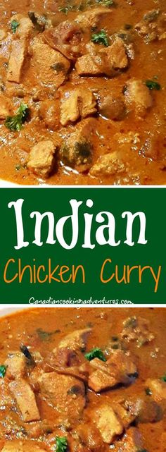 Simple Indian Chicken Curry recipe on the blog now! #chicken #indian #curry