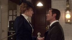 Yannick Bisson and Helene Joy in Murdoch Mysteries Murdock Mysteries, Victorian Costume, I Call You, Great Stories, Detective, Mystery, Tv Shows, Joy, Actors