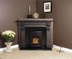 Fireplace Ideas On Pinterest Corner Gas Fireplace Corner Fireplaces