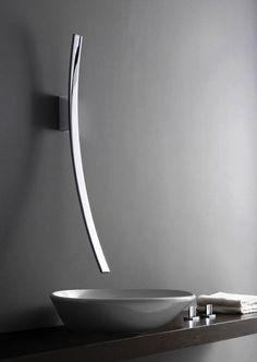 crescent-shape faucet by graff