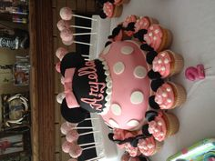 Minnie Mouse 2nd Birthday for my grand daughter Aryella.     Was yummy and beautiful.