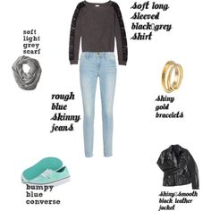 """Kelsey's Texture Scheme"" by kelsey-reuter on Polyvore"
