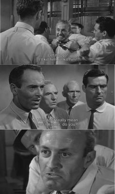 12 angry men comparisons between characters Fairness between 'twelve angry men' and 'the crucible' by: josh carter in both of these plays, there is at least one character that is always fair in 'the crucible', its john proctor, and in 'twelve angry men', its juror number eight.