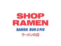 Shop Ramen - Never Now