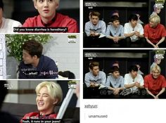 It's okay Suho, I laughed harder than i should have!
