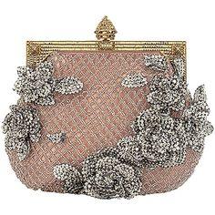 Valentino Clutch- I adore vintage purses! Vintage Purses, Vintage Bags, Vintage Handbags, Vintage Clutch, Beaded Purses, Beaded Bags, Beaded Clutch, Silver Clutch, Designer Handbags