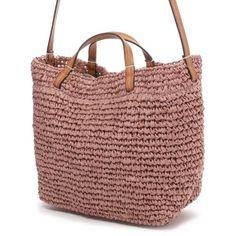 カシュカシュ cache cache ペーパー巾着2WAYバッグ(ピンク) -「買ってから選ぶ。」靴とファッションの通販サイト ロコンド