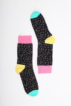 Happy Socks Sprinkles Socks - THE WHITEPEPPER http://www.thewhitepepper.com/collections/pre-fall-vintage-exclusives/products/happy-socks-sprinkles-socks