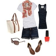 Summer wardrobe wish list. Perfect for a summer day date! :)