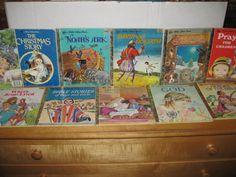 LITTLE GOLDEN BOOK RELIGIOUS LOT (1970'S, JESUS, CHRISTMAS, GOD, BIBLE)