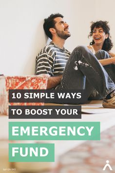 That new house comes with a lot of responsibility—and unexpected repairs: dying furnace, old refrigerator or leaky roof. 10 Simple Ways to Boost Your Emergency fund can make sure you're prepared.