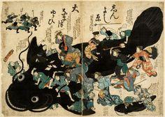 Tsunami in Giappone: secondo la tradizione orientale la causa è un pesce gatto gigante/ Pesce gatto Namazu