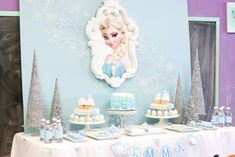 Frozen Party by Ashleigh Nicole Events   CatchMyParty.com