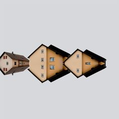 Architectural poster symmetry