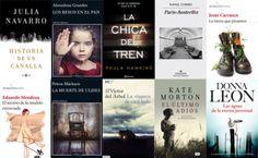 Libros más vendidos, semana del 29 de febrero al 6 de marzo en #ficción