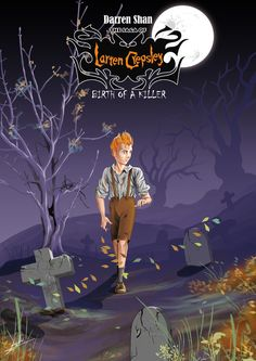 Book cover of Darren shan novel : The Saga Of Larten Crepsley Design & color by me Software : Photoshop CS5 - CorelDRAW X5
