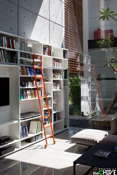 Library in my home