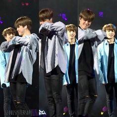 Looking at Bae like #Jungkook hahaha #Kookmin #Jikook