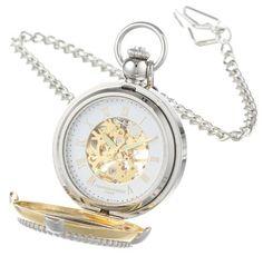 Two Tone Pocket Watch