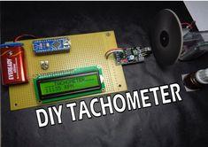 How to Make Arduino Based Digital Tachometer Simple DIY Tutorial   Working principle :- IR Sensor get penetrate by