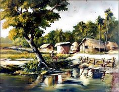 Villages of Bangladesh......in an artist look!!!!