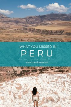 5 Peruvian Sites You Missed Haulin' Bum to Machu Picchu (Photos) via @TravelBreak