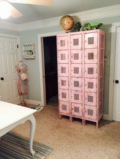 Lovin my repurposed lockers