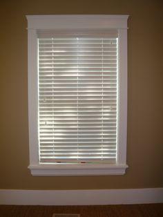 I want moulding around my windows