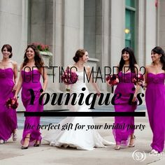 Say thank you to your girls for standing by you on your special day and get them some 3dmascara. www.YouniquelyGabbey.com