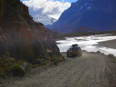Expedição Terra do Fogo, América do Sul.