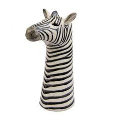 Zebra Flower Vase at http://www.ohhdeer.com