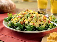 Southwestern Corn, Avocado & Pepper Jack Salad